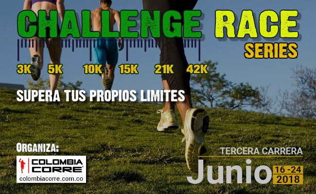 Carrera Junio 2018 challenge race