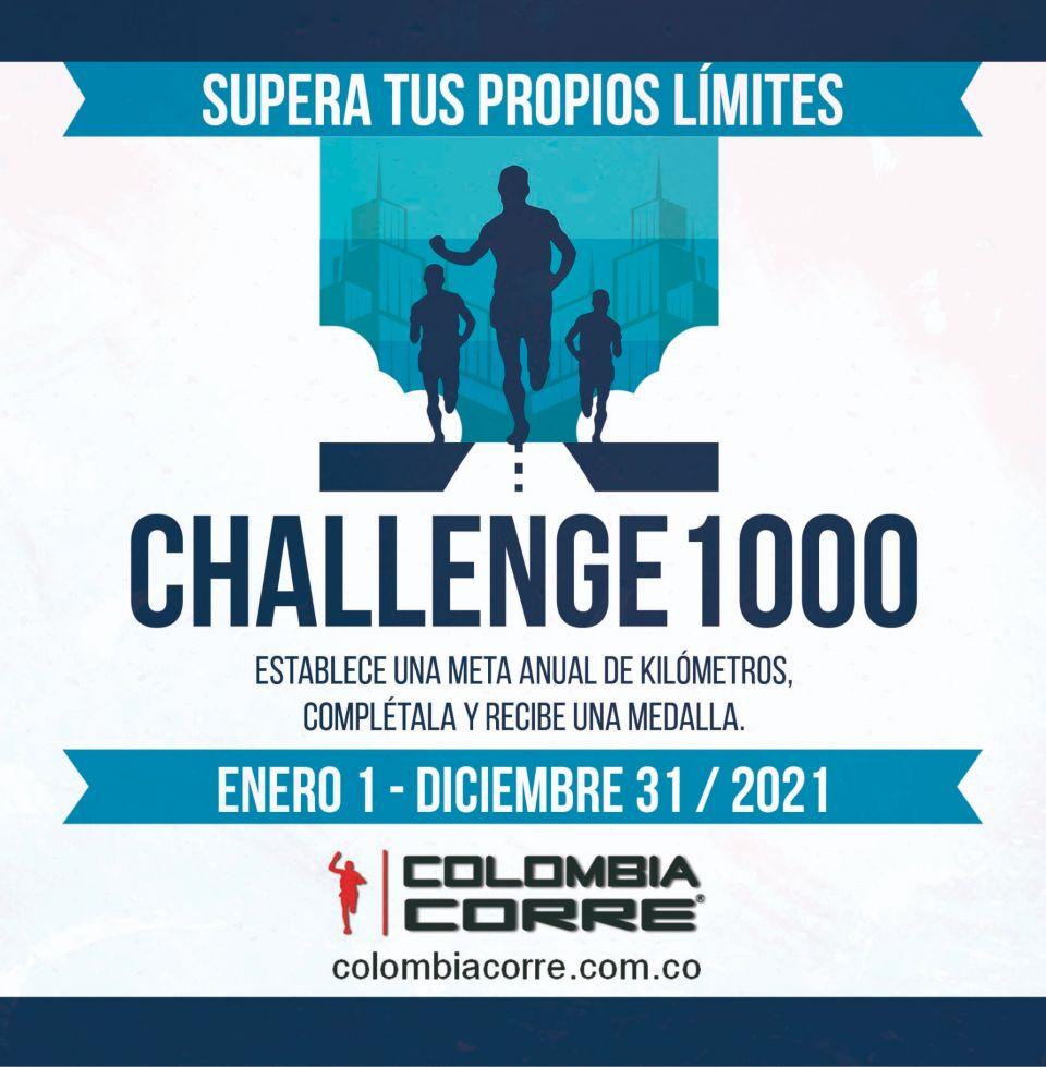 Abrimos las inscripciones para el Challenge1000 2021. Ponte una meta, suma kilómetros durante un año y recibe una medalla. Ahora con ranking mensual de kilómetros. Empieza ahora! Suma tus kilómetros de carreras y entrenamientos.Inscripciones aquí ----> http://bit.ly/37UoEMb