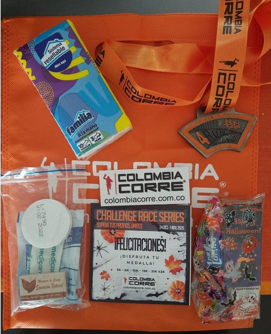 ColombiaCorre Siempre sorprendiendoFeliz con mi kit