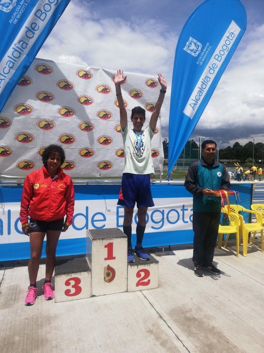 Campeonato Distrital Master10.000 mts y 5.000 mts