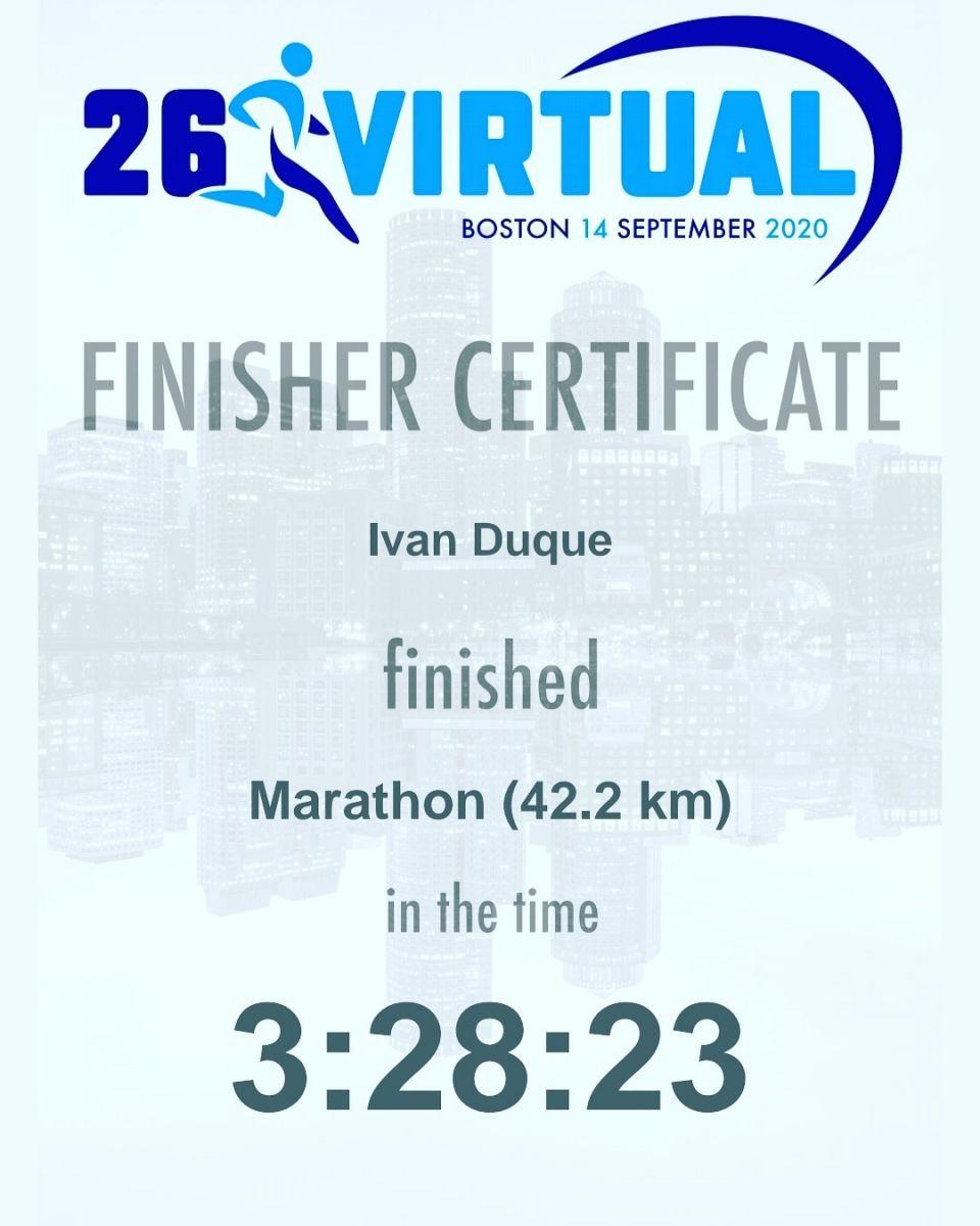 Mi maraton 2020