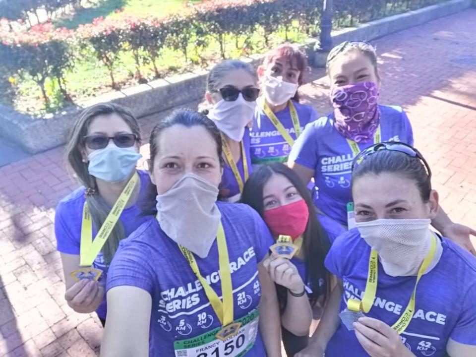 Buena carrera y excelente compañía. Gracias chicas Runners El Rosal