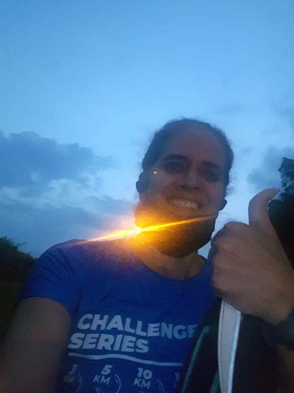 Felíz de culminar mi challenge race series 2020 con 3kms despues de superar el covid gracias !!!