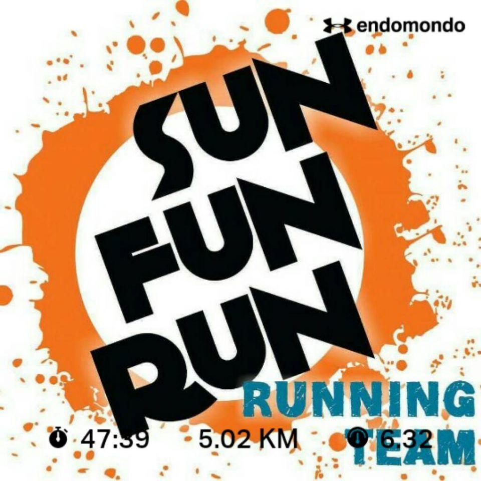 Listo el Challenge de Mayo. El clima no dejó intentar bajar un poquito más el tiempo. Será entonces para el de Julio. Sun Fun Run...esos somos!!!